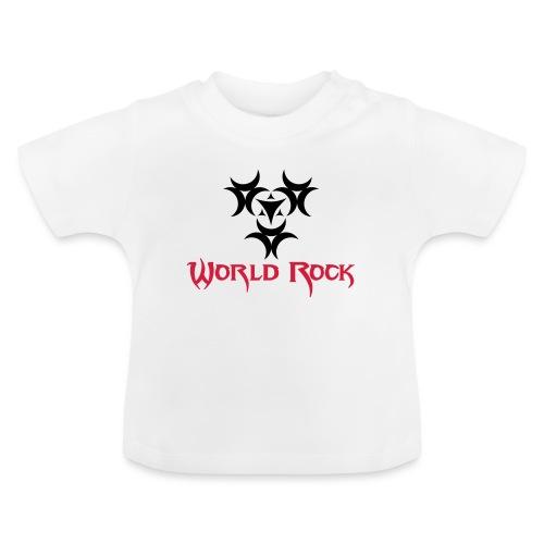 Motif World Rock - T-shirt Bébé