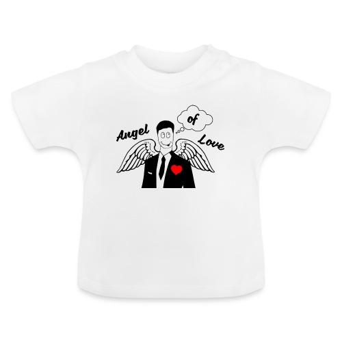 Angel of Love schwarz - Baby T-Shirt