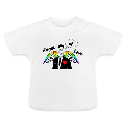 Angel of Love Regenbogen - Baby T-Shirt