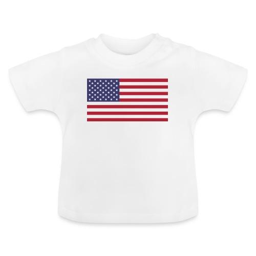 USA flagg - Baby-T-skjorte