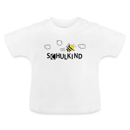 Schulkind Biene - Baby T-Shirt