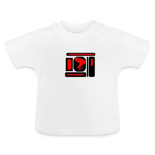 black and red hot P - Baby T-Shirt