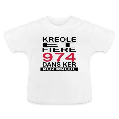 Kreole et Fiere - 974 ker kreol - T-shirt Bébé