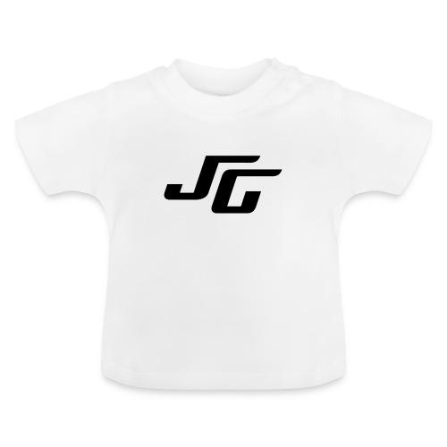 JG Logo schwarz - Baby T-Shirt