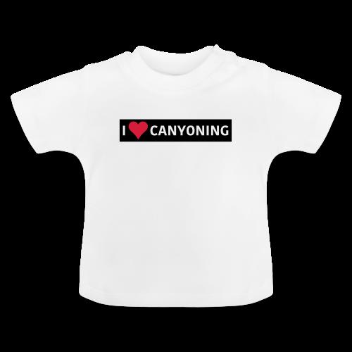 I Love Canyoning - Baby T-Shirt