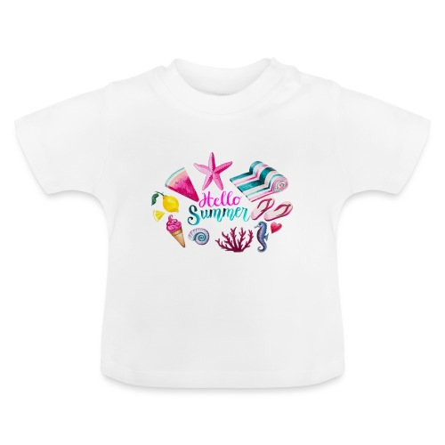 Hello Summer - T-shirt Bébé