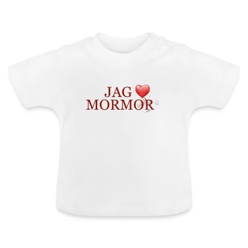 Jag älskar mormor - Baby-T-shirt