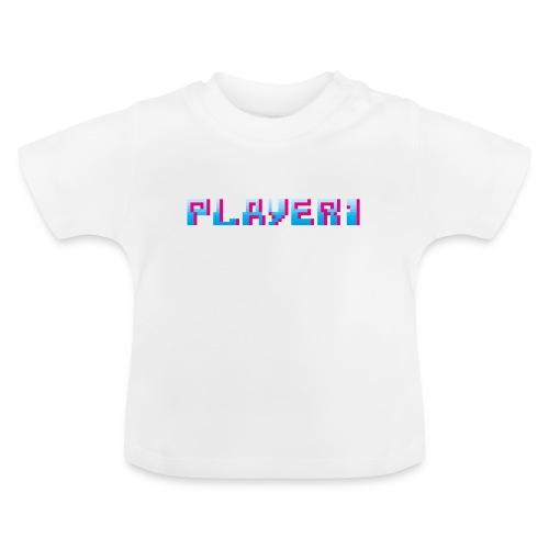 Arcade Game - Player 1 - Baby T-Shirt