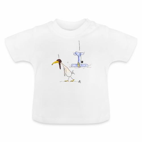 cartoon_Kleimdesign_abstu - Baby T-Shirt