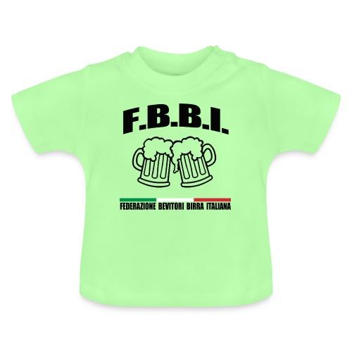 FBBI LOGO NERO - Maglietta per neonato