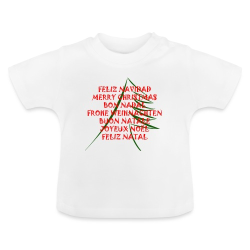 Feliz Navidad - Camiseta bebé