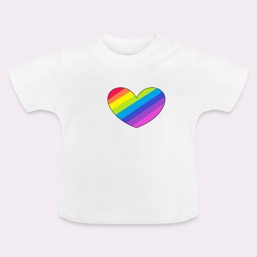 rainbow heart - Baby T-Shirt