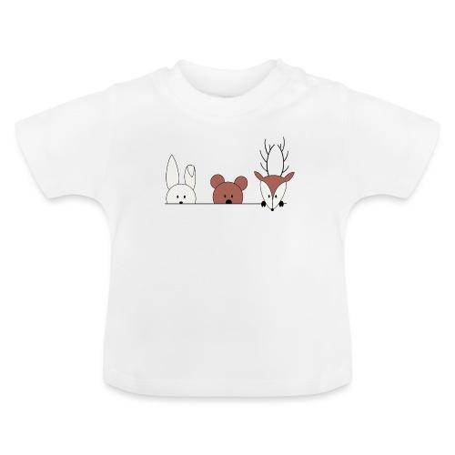 Kuckuck, wer ist da? - Baby T-Shirt