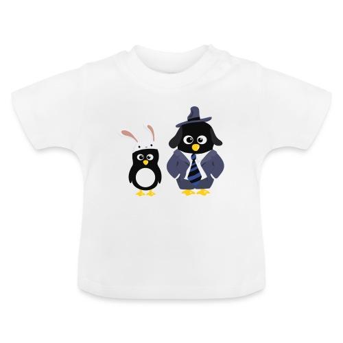 Pingouins and Max - T-shirt Bébé