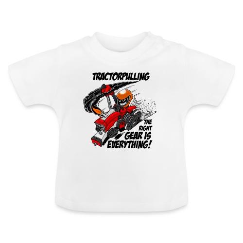 0966 tractorpulling - Baby T-shirt