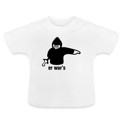 er war's - rechts - Baby T-Shirt