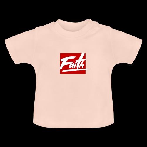Faith Red - Camiseta bebé