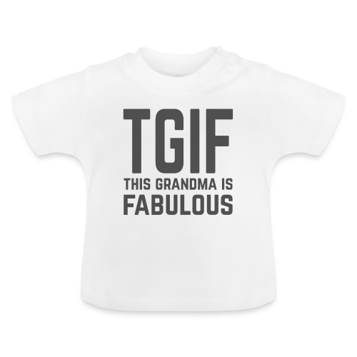 To jest wspaniała babcia - Koszulka niemowlęca