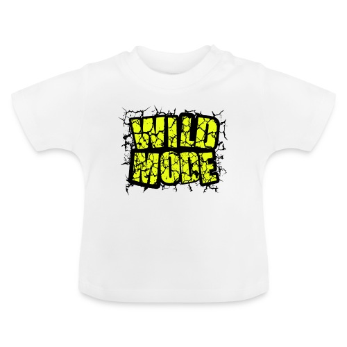 WILD MODE NEGRO Y VERDE - Camiseta bebé