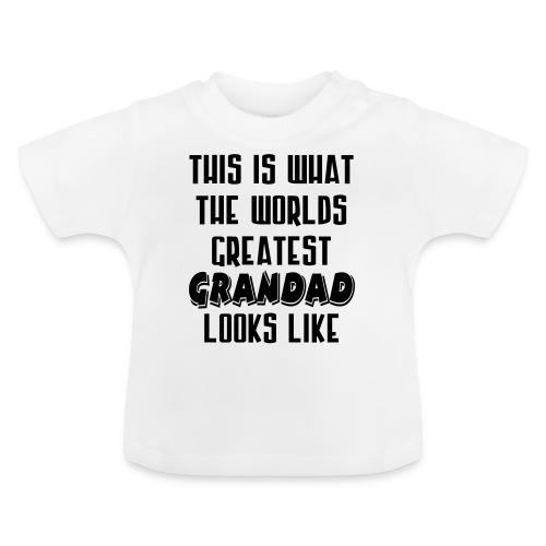 Worlds Greatest Grandad - Baby T-Shirt