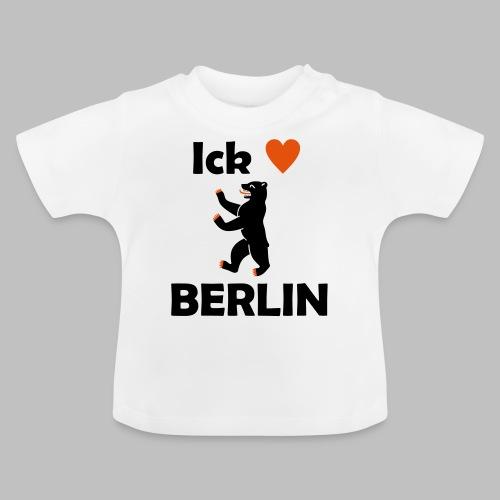 Ick liebe ❤ Berlin - Baby T-Shirt