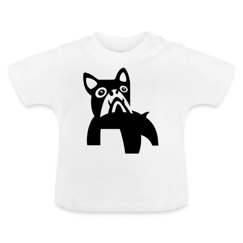 MadDog_kunst mit hund.eps - Baby T-Shirt