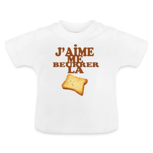 J'aime me beurrer la biscotte - T-shirt Bébé