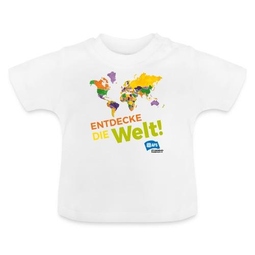 Entdecke die Vielfalt der Welt mit AFS - Baby T-Shirt