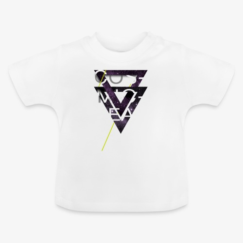 Cosmicleaf Triangles - Baby T-Shirt