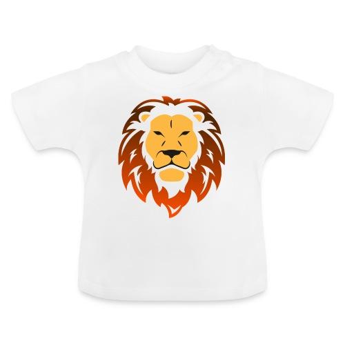 Lion orange - T-shirt Bébé