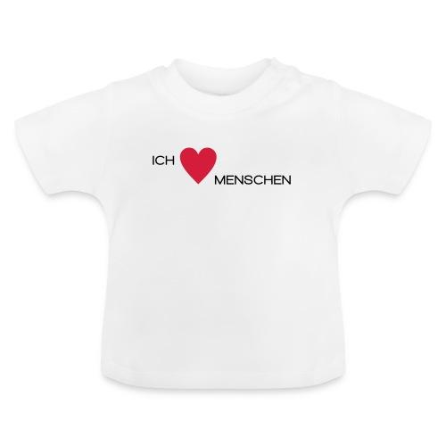 Ich liebe Menschen - Baby T-Shirt
