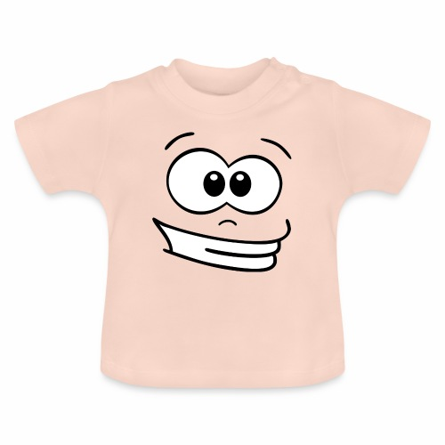 Gesicht grinsen - Baby T-Shirt
