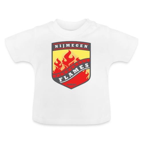 snapback pet rood/zwart combi - Baby T-shirt
