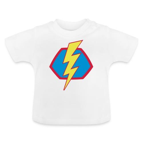 Superhelden Superhero Comic Blitz Symbol - Baby T-Shirt