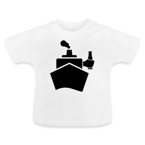 King of the boat - Baby T-Shirt