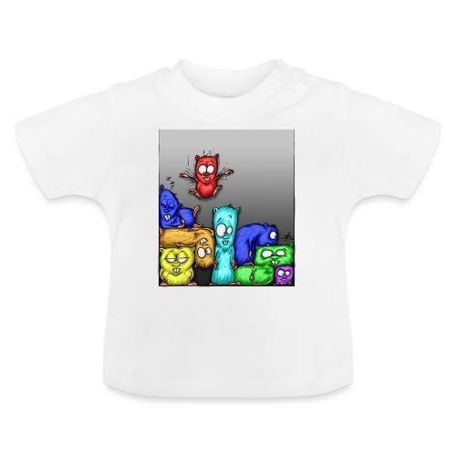 hamstris_farbe - Baby T-Shirt