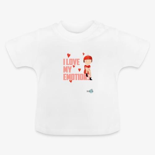 i love my emotions girl - Maglietta per neonato
