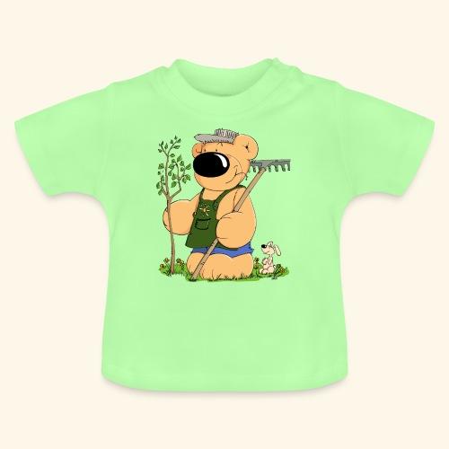 chris bears Gärtner Bär - Baby T-Shirt