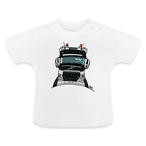 0488 V truck wit - Baby T-shirt