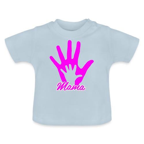 mamas hand - T-shirt Bébé