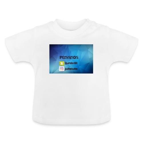 Penisnos merch med snap och ig - Baby-T-shirt