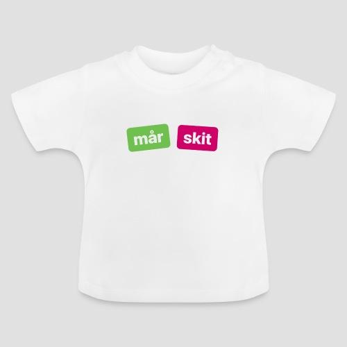 mår skitdyr (ett jättedåligt köp!!!) - Baby-T-shirt