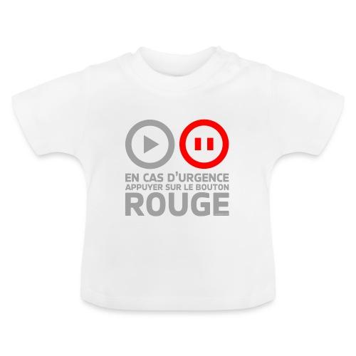 En cas d'urgence - T-shirt Bébé