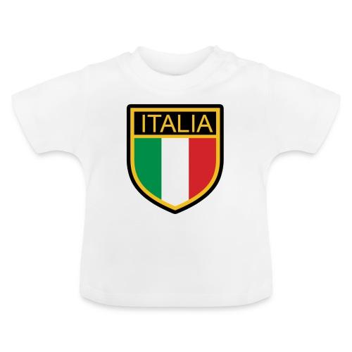 SCUDETTO ITALIA CALCIO - Maglietta per neonato