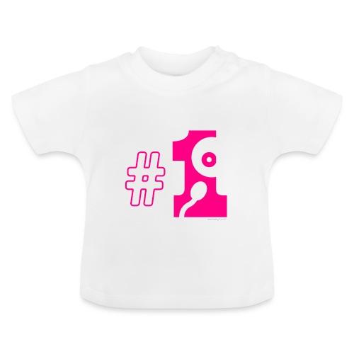 Number one - T-shirt Bébé