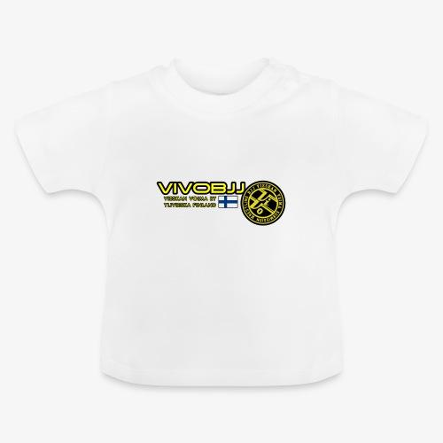 ViVoBJJ Patch White - Vauvan t-paita