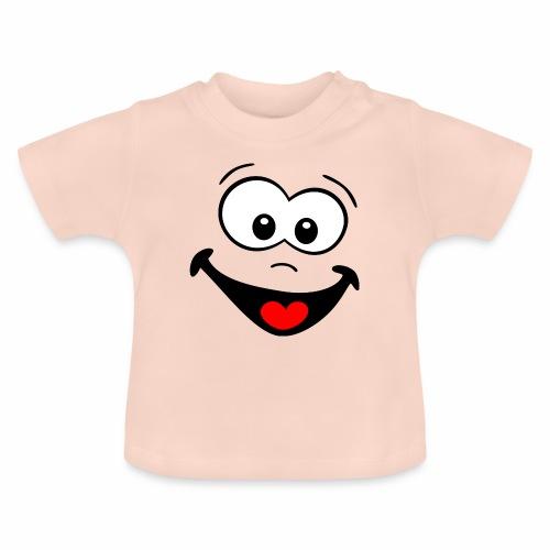 Gesicht lachen - Baby T-Shirt