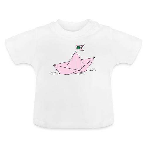 Schiffchen rosa - Baby T-Shirt