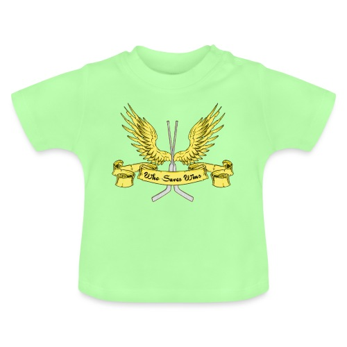 Who Saves Wins, Hockey Goalie - Baby T-Shirt