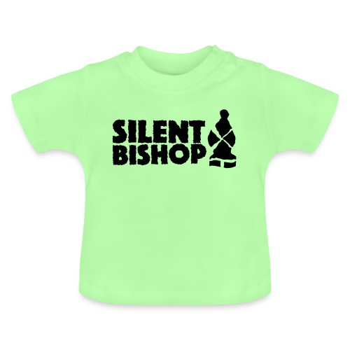 Silent Bishop Logo Groot - Baby T-shirt